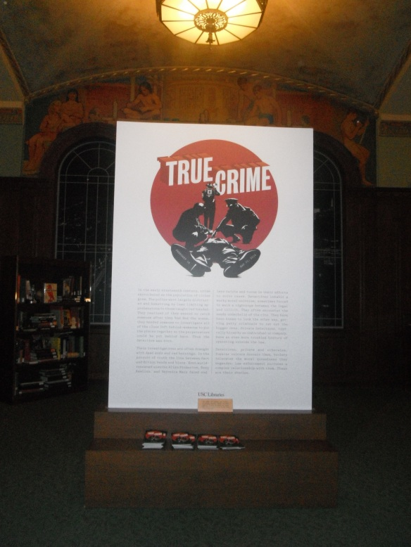 True Crime Exhibit at USC 001