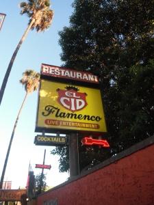 El Cid main sign