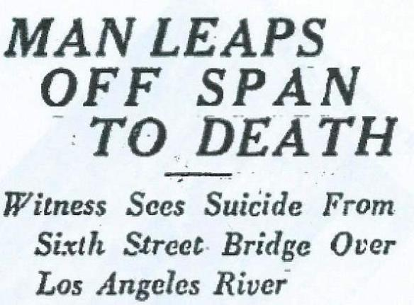 6th Street Suicide scan of headline