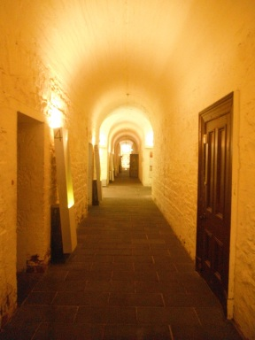 The creepy former gold vaults at the Old Treasury Building: Victoria boomed when gold was discovered in the area in the 1850s