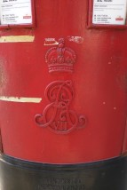 A very old postbox