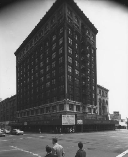 Brockman Building LAPL archives