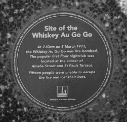 Whiskey plaque