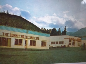 The Summit Cafe circa 1963
