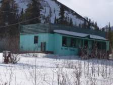 The Summit Cafe - abandoned for at least 20 years, this ghost cafe is at Mile 392